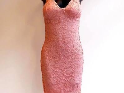Robe Dentelle Rose